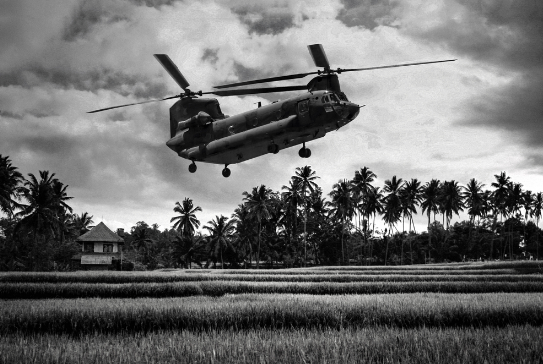 The war in Vietnam