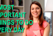 2 most important things to do every day